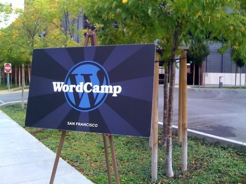 at WordCamp