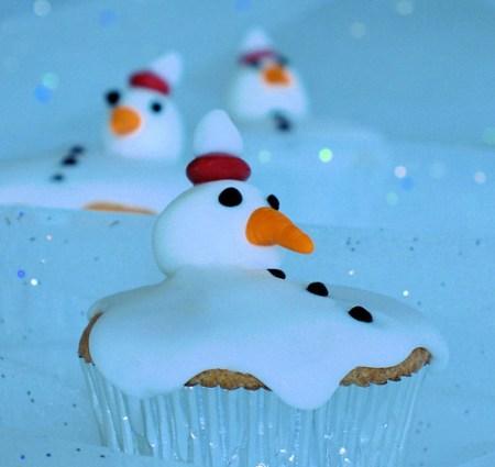 snowman cupcake 5342 R