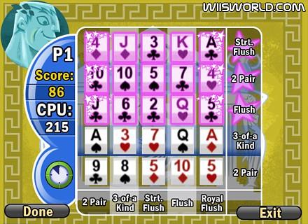 Battle Poker Screen