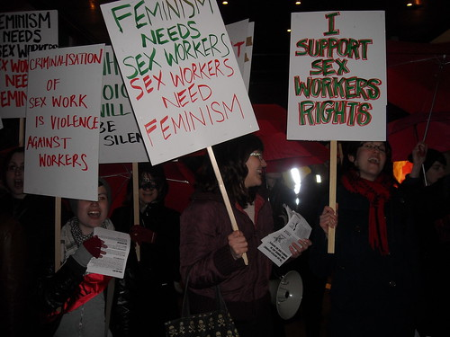 I support sex workers' rights