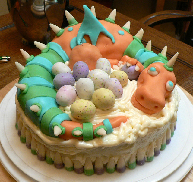Dragon Cake - preview!