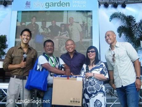 Sky Garden Press Launch