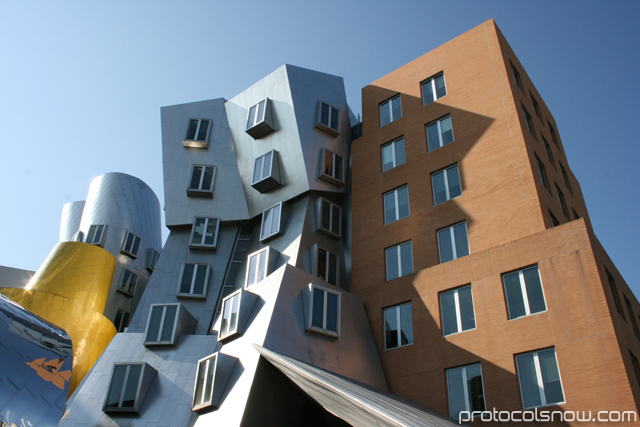 MIT architecture Frank Gehry