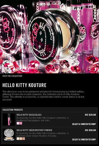 Hello Kitty Kouture Collection M.A.C