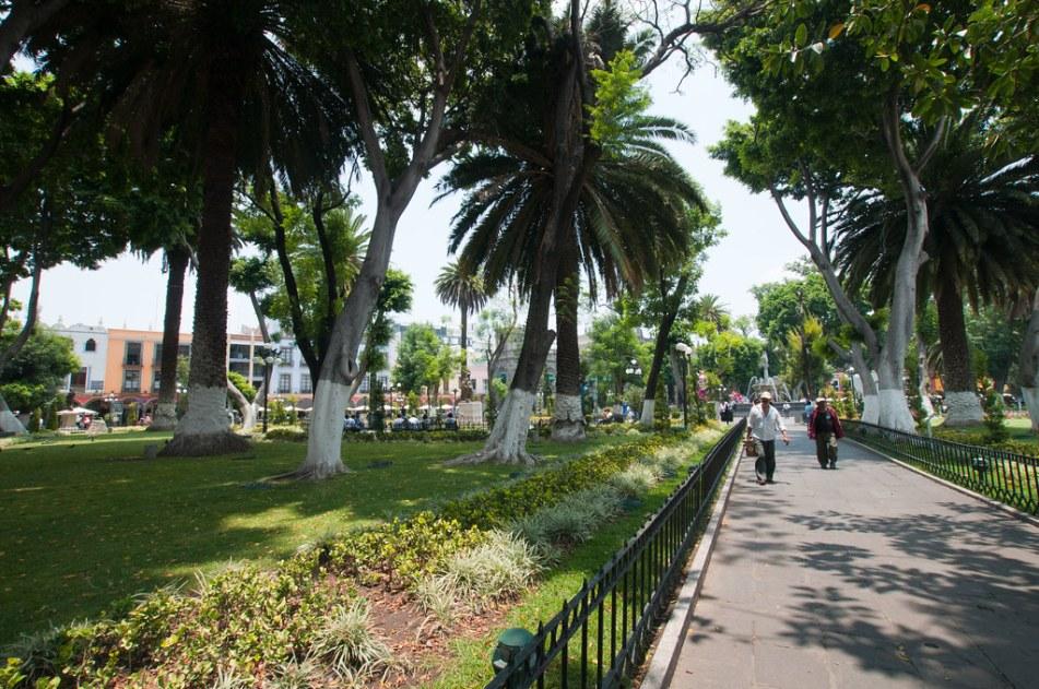 Zocalo in Puebla, Mexico