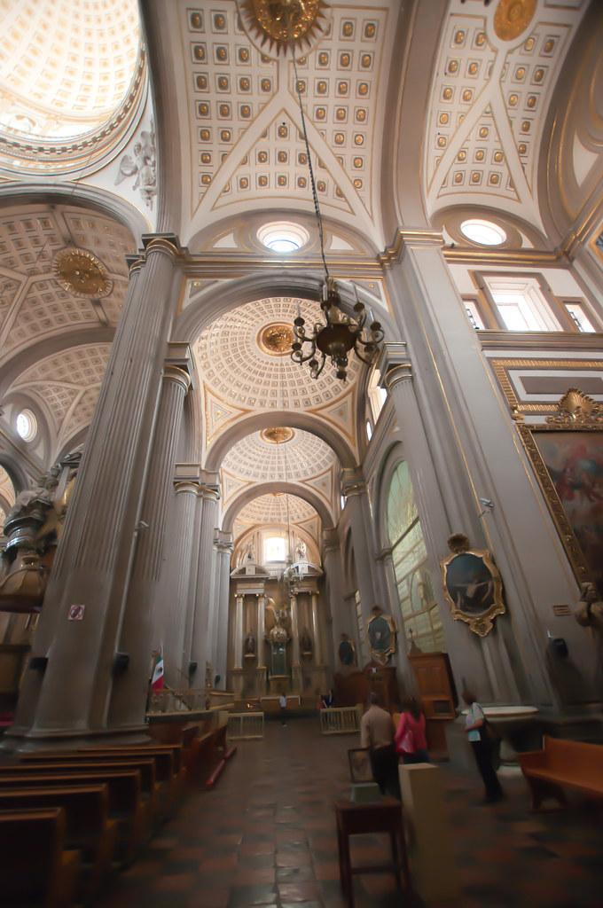 Cathedral in Puebla, Mexico