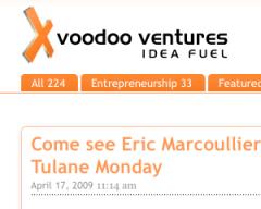 Voodoo Ventures Web Site