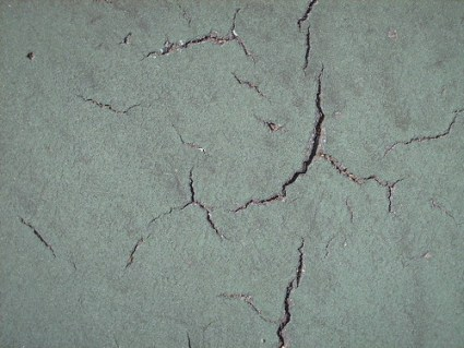 Cracks from Tennis Court - #6