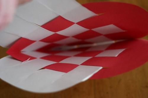 Woven Paper Valentine Hearts - 10