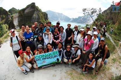 Conquer Mt Pinatubo Trekkers