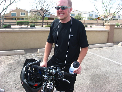 Jeff after the ride