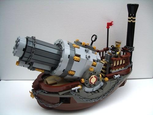 LEGO Steampunk Ship Vulcan Cannon