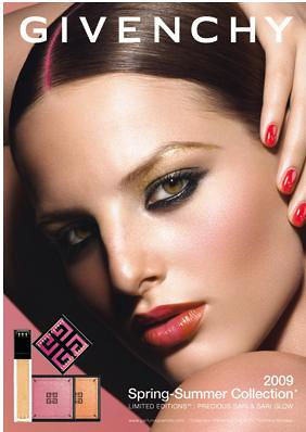 Givenchy 2009 Cosmetics for Spring