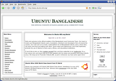 New Home of Ubuntu BD