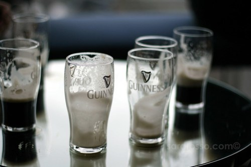 A neighborhood of Guinness, Guinness Storehouse, Dublin, Ireland