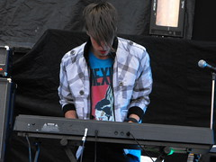 Jesper Anderberg of The Sounds - Synthesizers/Piano