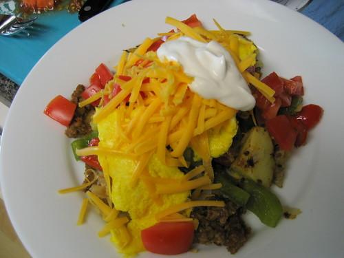 veggie breakfast of doom