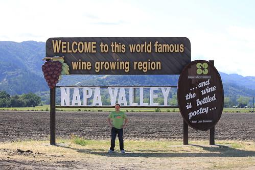 Gabriel Saldaña at Napa Valley