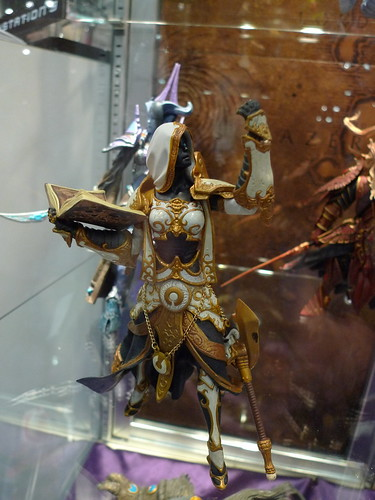 World of Warcraft figures at NYC ComicCon