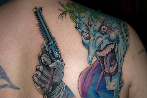 3288790211 322fb7e780 As melhores tatuagens do Coringa: galeria de fotos