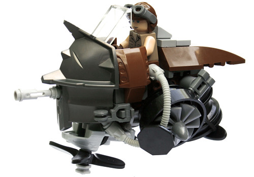 LEGO steampunk hovercraft