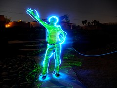 Lake Havasu Light Painting-17