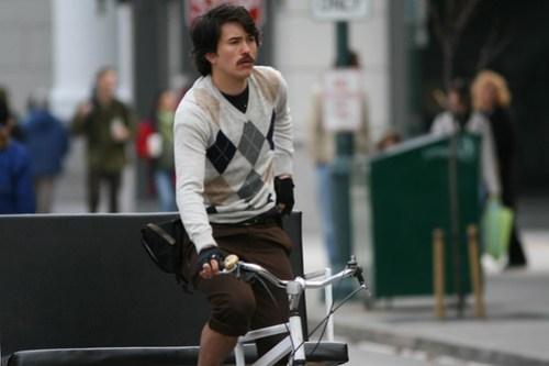 Tim O'Neil and his rickshaw