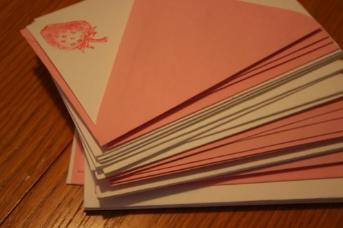 cards for correspondence month