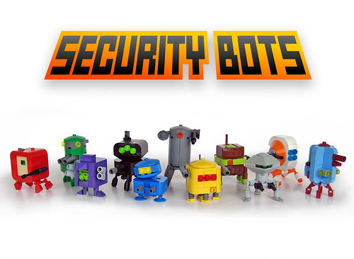 LEGO security bots