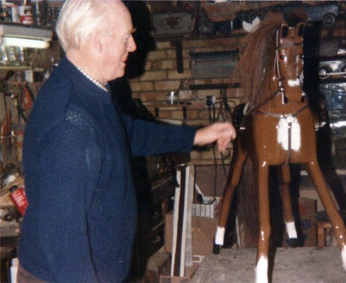 Rocking Horse in progress 5/5