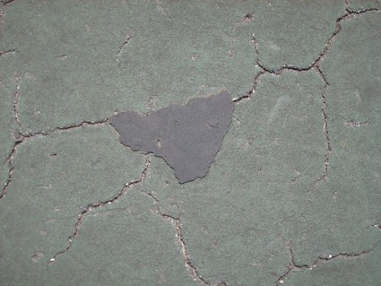 Cracks from Tennis Court - #3