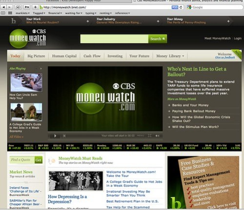 CBS MoneyWatch.com - Personal finance advice, analysis and financial planning