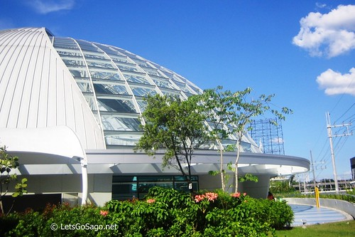 Another Angle of the 1,200-seater Sky Dome