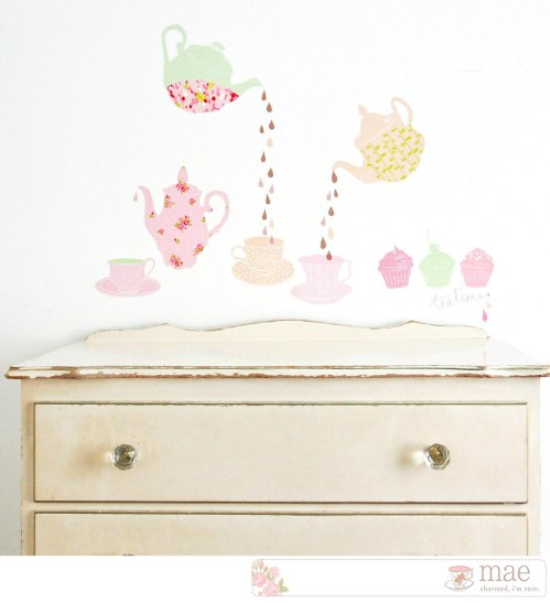 Fabric Wall Decals By Mae