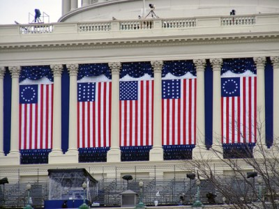 The Capitol gets ready for Tuesday