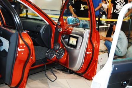 Kid Audio Honda Civic SiR Passenger's side door