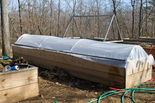 Humble Garden 2009: Completed cold frame