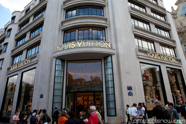 Louis Vuitton Paris flagship store