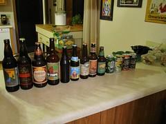 Beer snob tasting