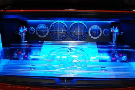 Kid Audio Honda Civic SiR Trunk