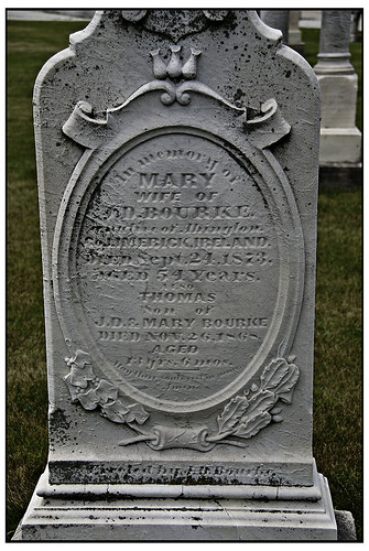 Mary Wife of JD Bourke