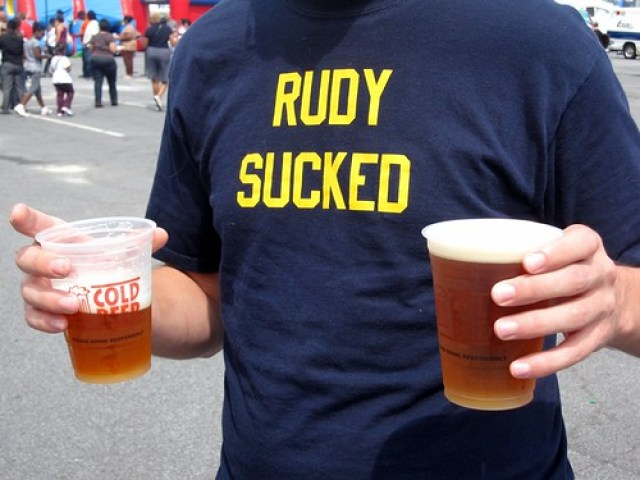 atlanta bbq festival - haha, rudy sucked by you.