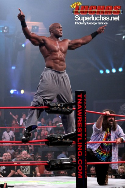 Bobby Lashley en TNA iMPACT (21 Julio 2009) / Photo by George Tahinos