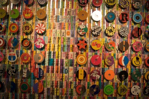 John Kuzich's Fast Pass art at the DeYoung through Sunday, August 30