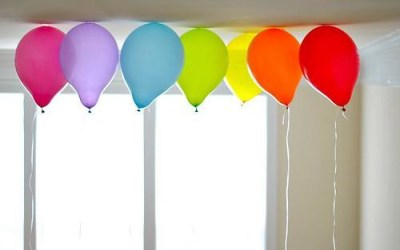 rainbow balloons crooked house blog