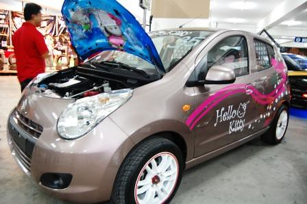 Suzuki Celerio Hello Kitty