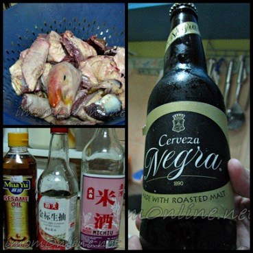 duck recipe  beer stewed duck ingredients