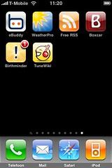 Nieuwe apps 21/07/2009