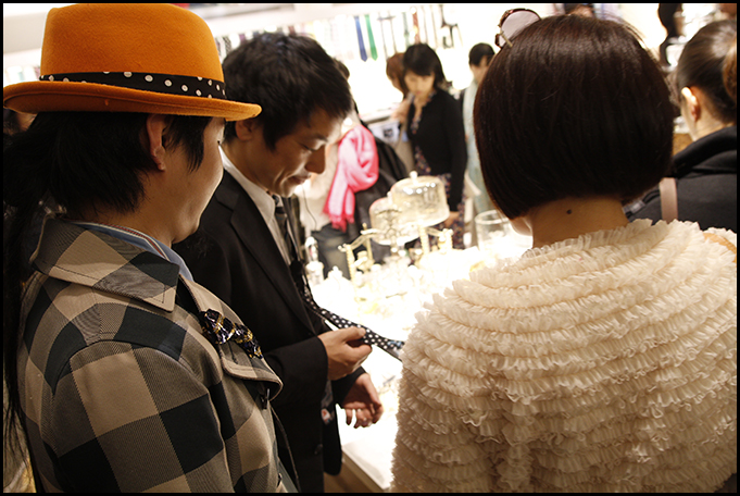 2010.04.27 Pass The Baton Omotesando Store Opening Party 46