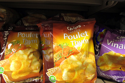Poulet Thyme chips